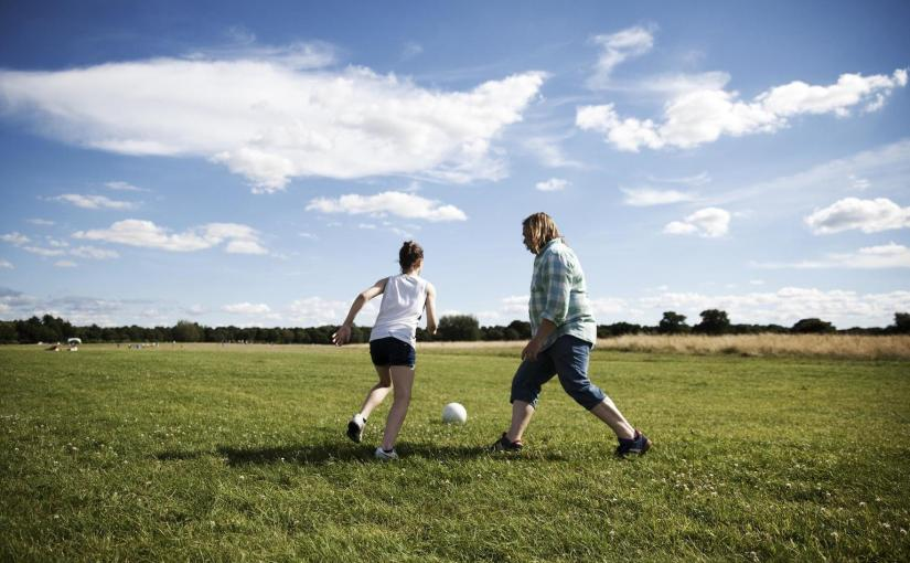 Dads and daughters – Sharing a passion for football