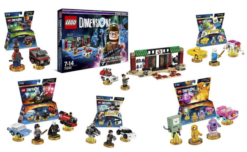 LEGO Dimensions Wave 6: Ghostbusters, Adventure Time, Harry Potter, Mission: Impossible, and The A-Team