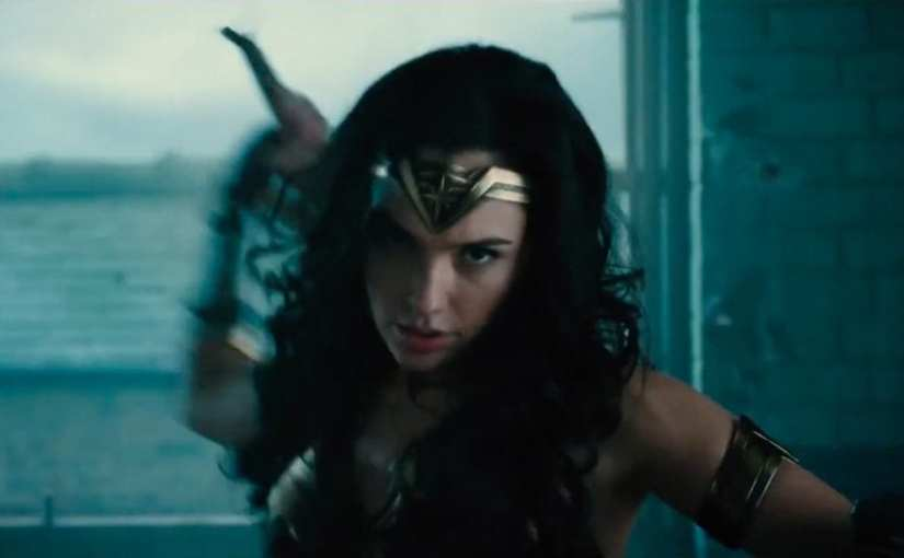 Wonder Woman movie footage recut to 1970's TV show theme is glorious