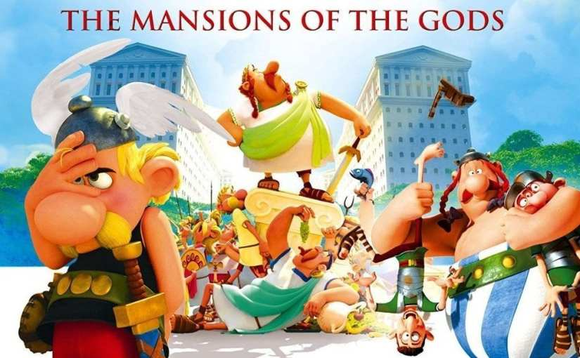 Film review: Asterix – The Mansions of the Gods