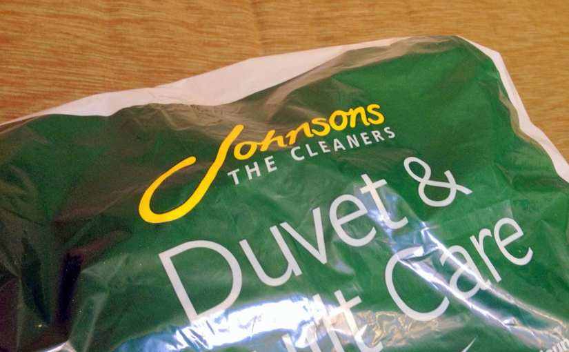 Because a Dad's Work is Never Done: Johnson's Click & Collect Dry Cleaning