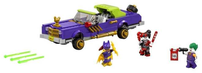 The LEGO Batman Movie The Joker Notorious Lowrider set (70906) packshot