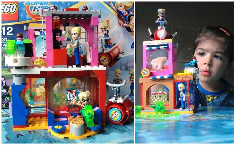 DC Super Hero Girls LEGO: Harley Quinn to The Rescue set (41231)