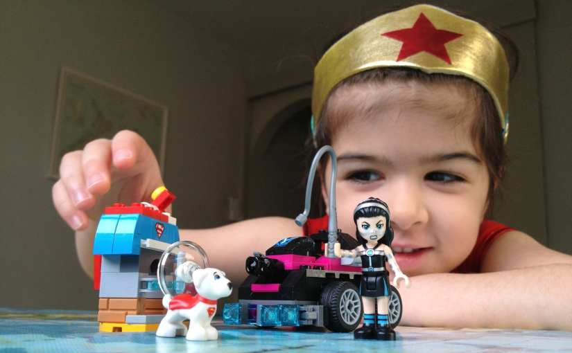 DC Super Hero Girls LEGO Lashina Tank set (41233)