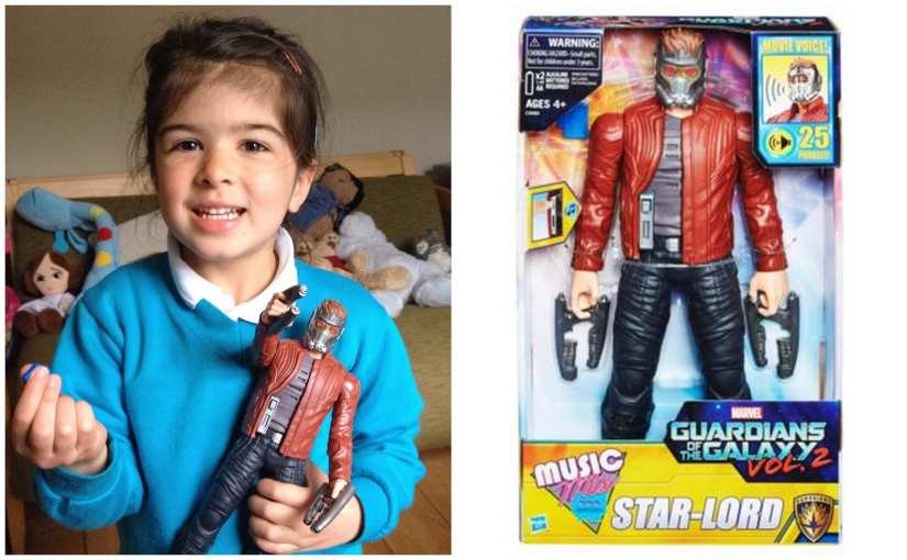 Marvel Guardians of the Galaxy Electronic Music Mix Star-Lord toy