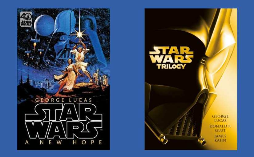 The original Star Wars trilogy novelisations