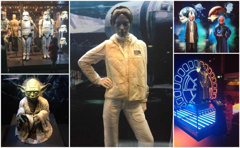Star Wars Identities exhibition at the 02 London
