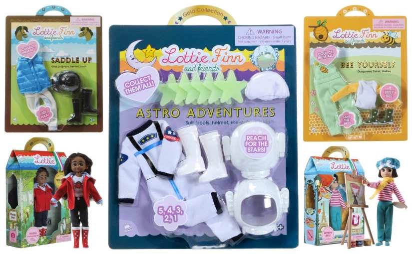 Giveaway – win a bundle of the latest Lottie dolls and accessories