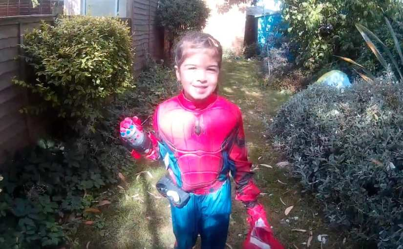 Unleashing your inner Spider-Man (or Spider-Girl)