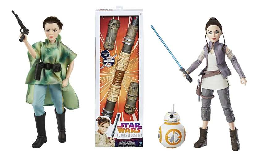 Star Wars Forces of Destiny, Star Wars Forces of Destiny toys