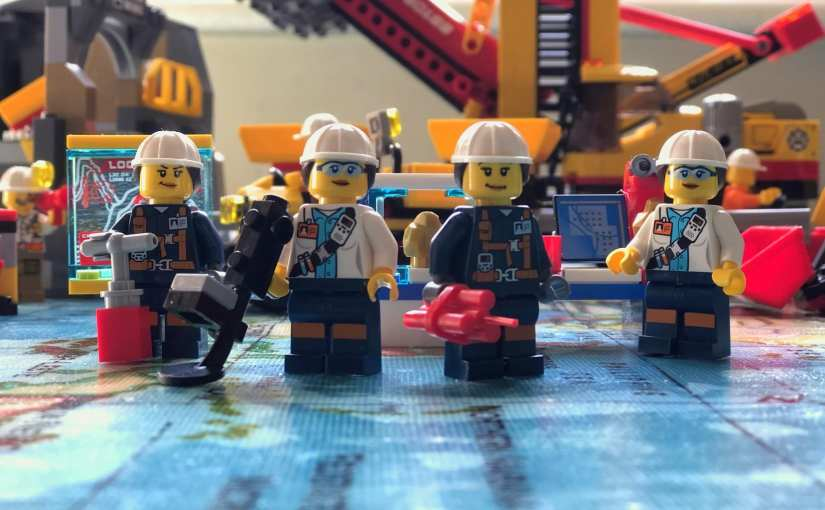 LEGO City Mining sets – Representation Matters