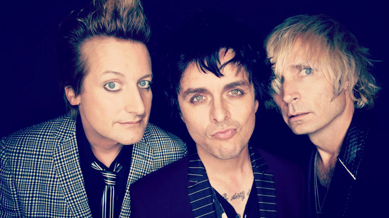 Playing in 2017 - Green Day