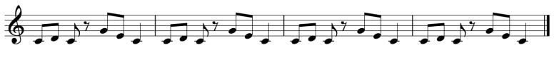 Melodic Ostinato 2