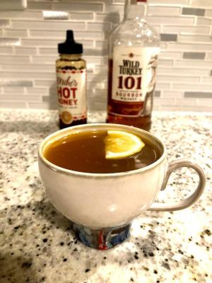 Hot Apple Cider Bourbon