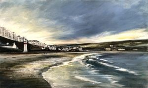 petrina-kent-port-erin-beach-morning