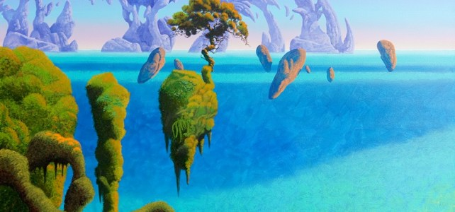 Manx Museum to stage major exhibition of work by internationally acclaimed artist Roger Dean