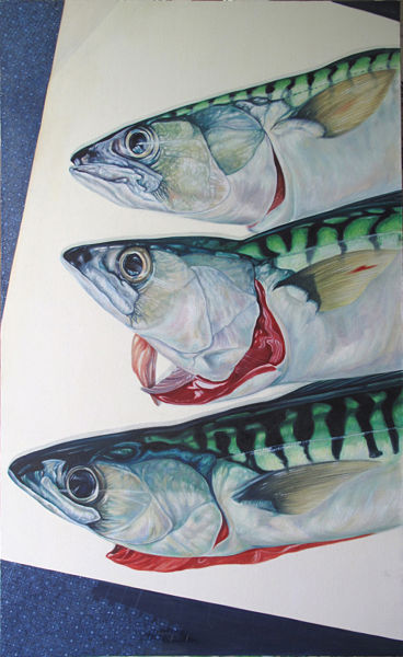 """Kings of the Sea 50"""" x 30"""" (1270 x 760mm)"""