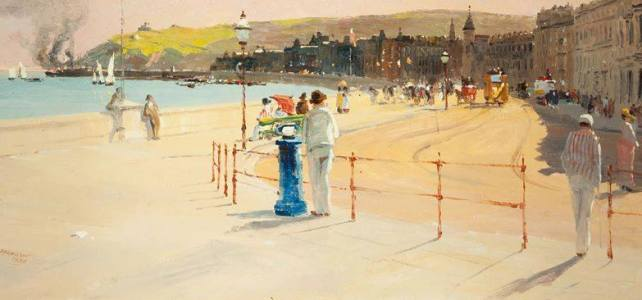Lynsey Clague – 'Summer Afternoon on Douglas Promenade'