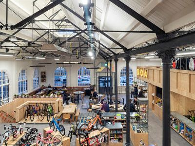 Douglas Market Hall redevelopment shortlisted for RIBA North West Award for Architecture