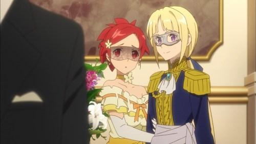 イゼッタとフィーネのドレス(第8話画像)
