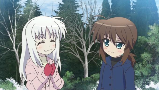 フーカとリンネの孤児院時代(第10話画像)