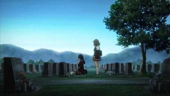 お墓参り(第11話画像)