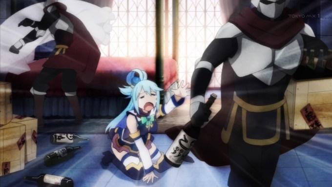 泣くアクア(第1話画像)
