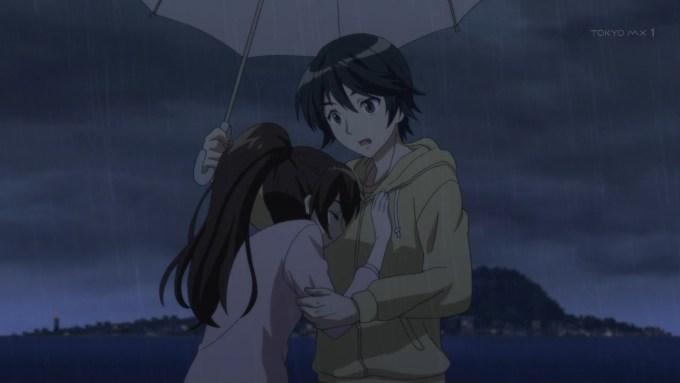 優と小雪(第3話画像)