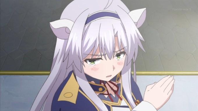 泣くシスティテーナ(ロクでなし魔術講師と禁忌教典2話画像)
