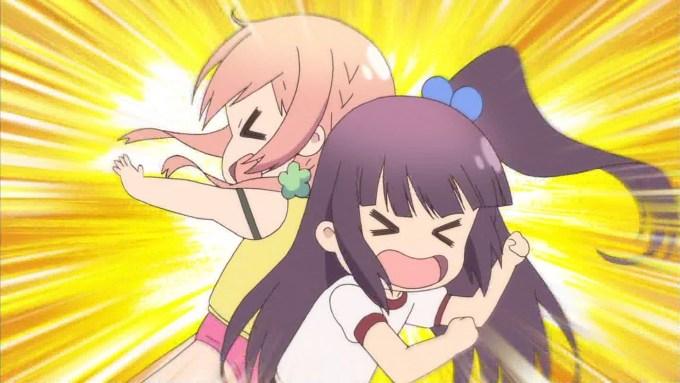 中島ゆあにぶつかる桜木ひな子