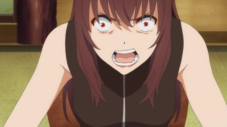 怒る紅坂朱音,冴えない彼女の育てかた9話より