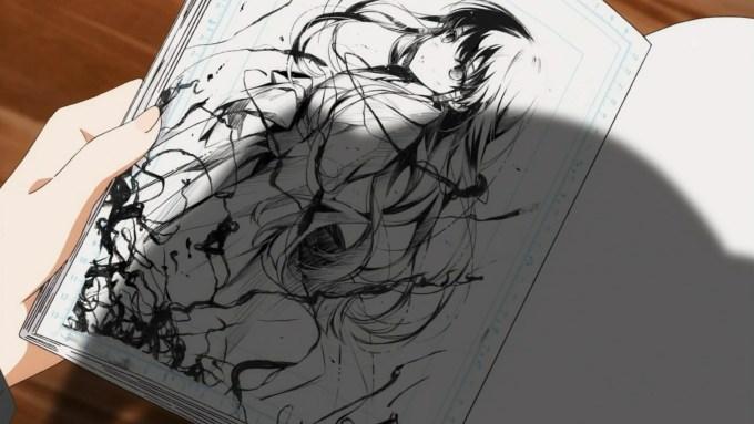紅坂朱音が描いた澤村スペンサー英梨々の絵,冴えない彼女の育てかた9話より