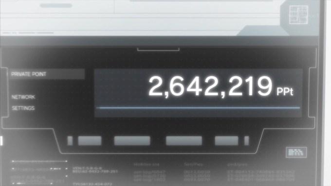 一之瀬帆波は2642219ポイント