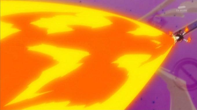 ネンドモンスターの攻撃
