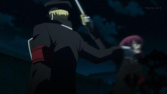 エレオノーレを殴るラインハルト
