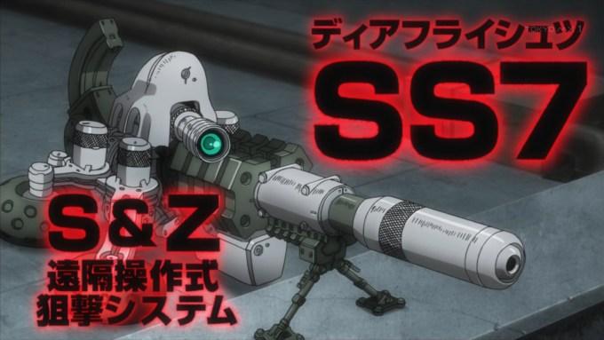 KKの遠隔操作狙撃システム