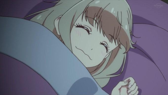 寝ている姫石らき
