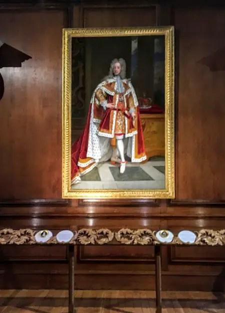 Portrait in Hampton Court Palace