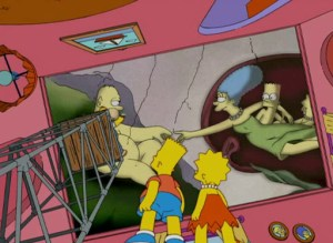 Simpsons - Michaelangelo - The Creation of Adam