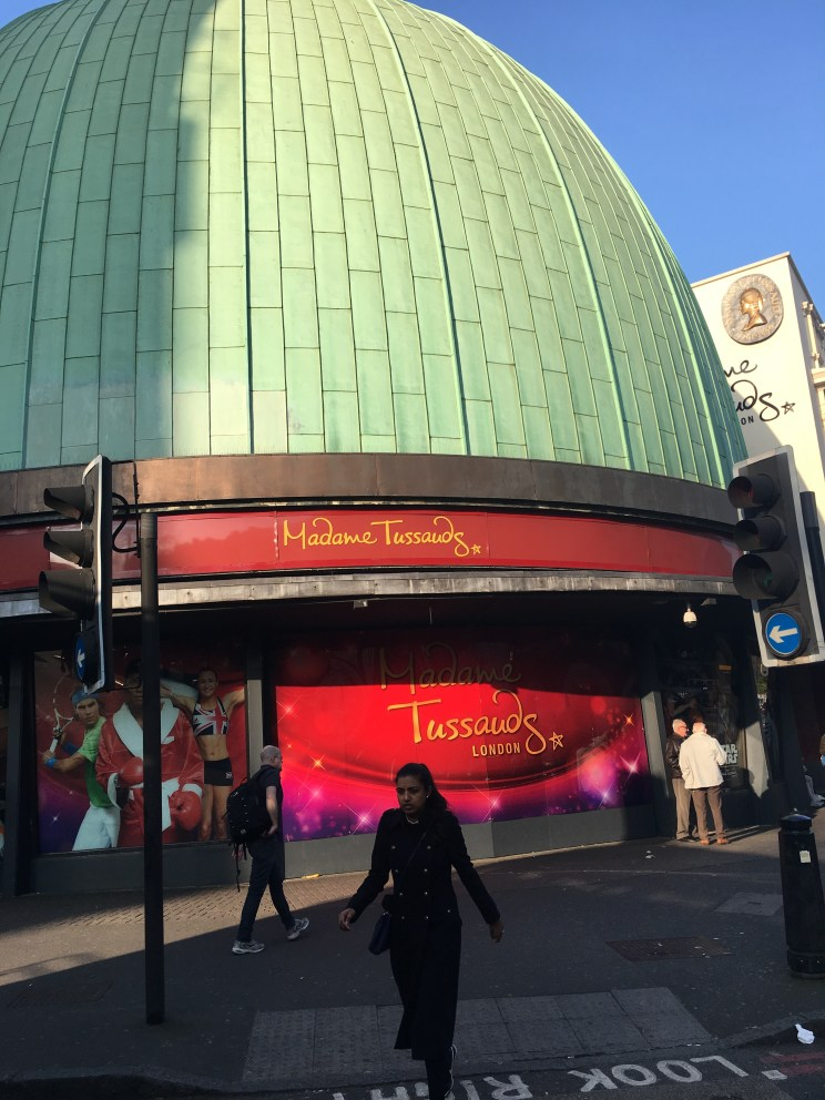 Tussauds. Used to work here, still got the t-shirt