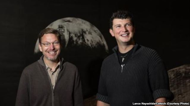 Mike Brown and Konstanytin Batyglin of Caltech