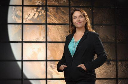 Elisa Quintana is a research scientist at the SETI Institute and at the NASA Ames Research Center. (SETI Institute)