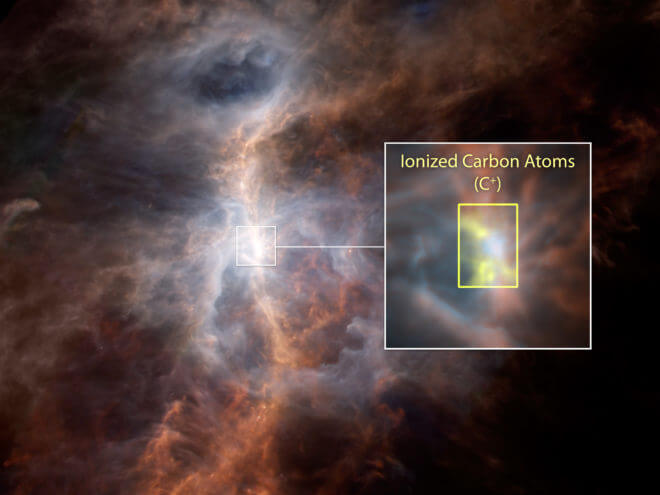 compounds being created in the xxx nebula