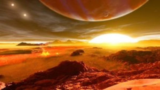 Exoplanets are much too far away for missions to visit and explore, so scientists are learning about them remotely. That includes the question of whether they might support life — an aspect of exoplanet science that is getting new attention. This is artist Ron Miller's impression of an exoplanet.