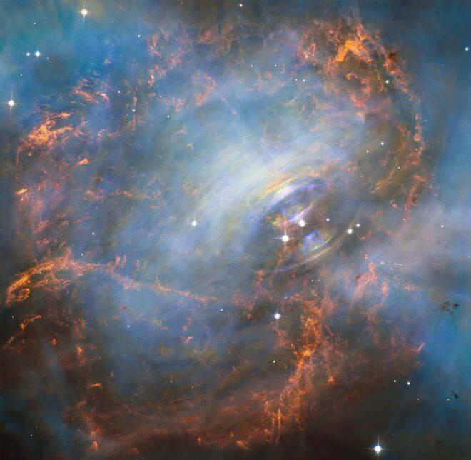 Inside the Crab Nebula