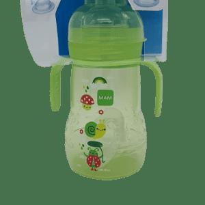 Biberón trainer verde Mam