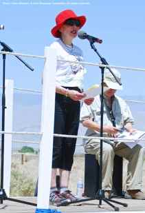 Karen Korematsu, Founder of the Fred T. Korematsu Institute For Civil Rights and Education was the keynote speaker