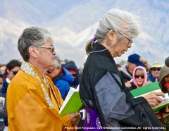 Interfaith service during the 47th Annual Manzanar Pilgrimage.