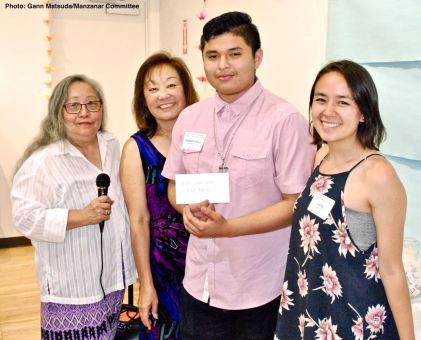 Juan Carlos Constantino Dominguez (second from right), shown here with Jenny Chomori (left), Kerry Cababa (second from left) and Carly Lindley (right)