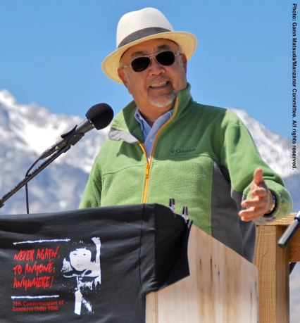 Manzanar Committee and Manzanar Pilgrimage co-founder Warren Furutani was the keynote speaker